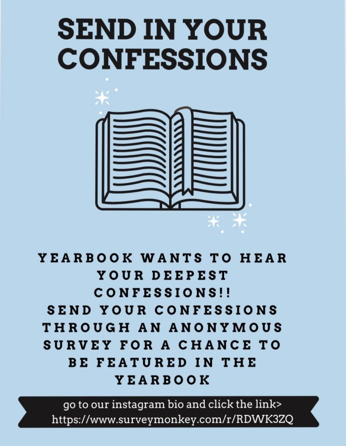 Yearbook wants your confessions. The question is, are you brave enough to tell?
