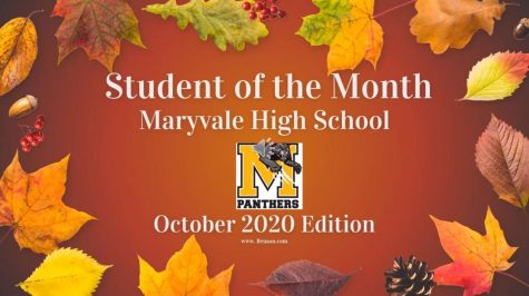 Maryvale High School October Students of the Month