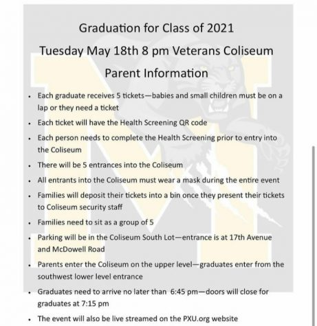 Graduation Update for Seniors