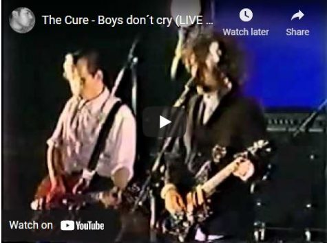 The Cure sings Boys Dont Cry
